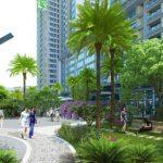 Vai trò của cây xanh đối với chung cư ở đô thị