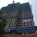 Tabudec Plaza xây dựng vượt tiến độ, chính thức cất nóc vào 21/09