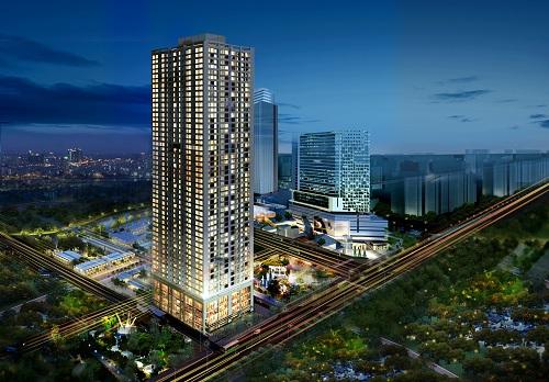 phoi canh ban dem chung cu tokyo tower