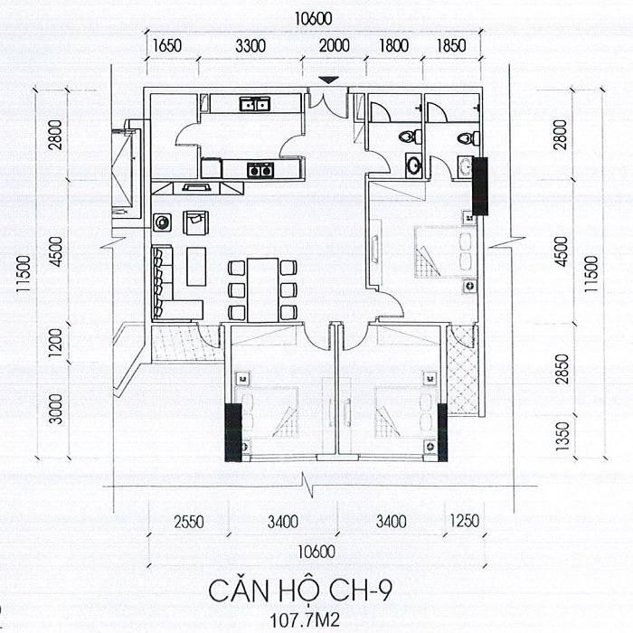 Can-ho-ch-9-toa-B-107.7m2-chung cu IA20 Novotel Ciputra