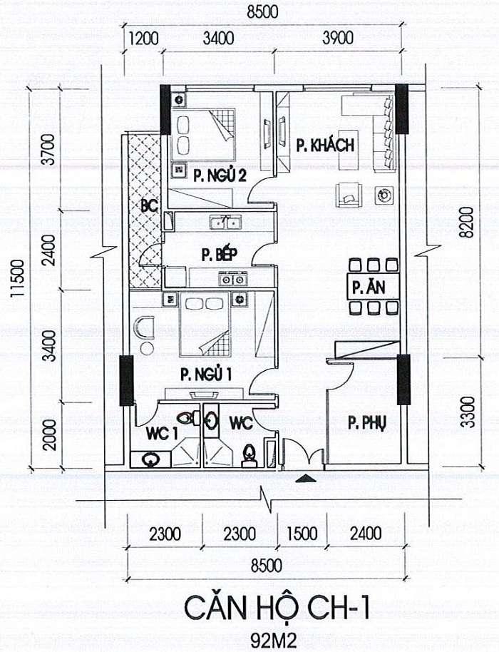 can-ho-CH-1-tòa-A-92m2 du an ia20 novotel ciputra
