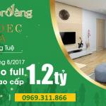 Tabudec Plaza – Chương trình bán hàng đặc biệt tháng 8/2017 – Căn hộ mơ ước