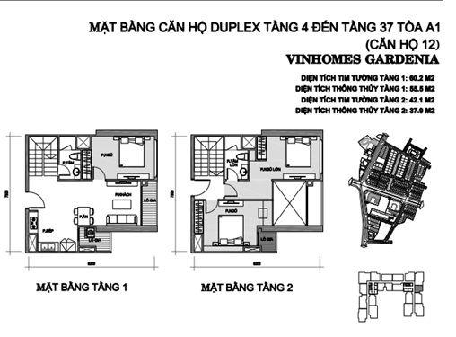 can 12 tang 4 toa a1 chung cu vinhomes gardenia