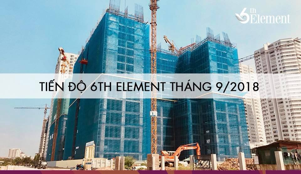 tien do thang 9 2018 chung cu 6th element c51 bac ha tay ho