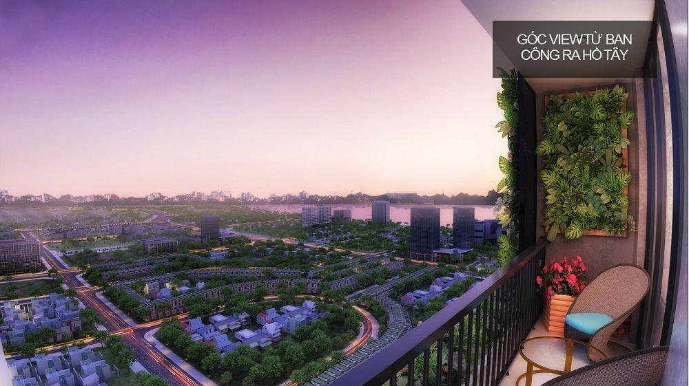 goc view tu đường Hoàng Quốc Việt quận Cầu Giấy