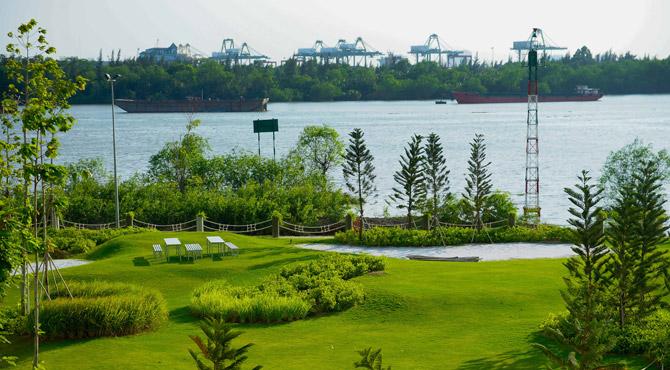 khong-gian-tiec-nuong-tai-dao-kim-cuong-diamond-island