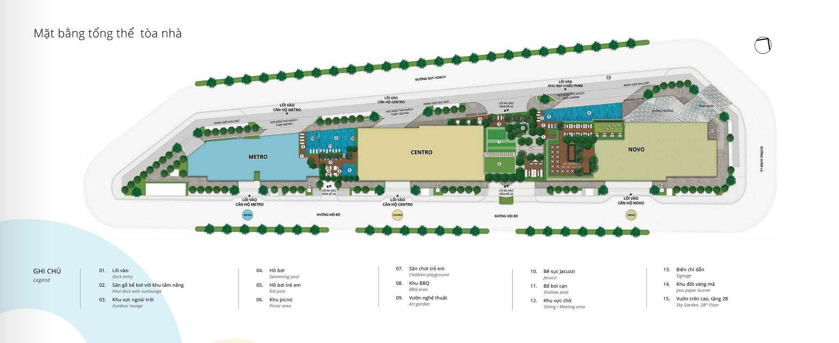 mat bang tong the toa novo centro va metro chung cu kosmo 5 LÝ DO NÊN MUA CĂN HỘ CHUNG CƯ KOSMO TÂY HỒ