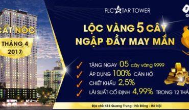 chuong trinh ban hang tai du an chung cu flc star tower
