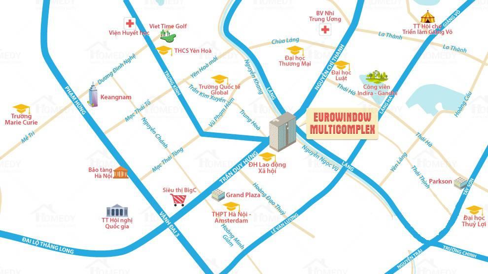 vi tri chung cu eurowindown multicomplex 27 tran duy hung