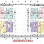 Mặt bằng – Thiết kế tòa CT1 A B Chung cư Thông Tấn Xã Việt Nam